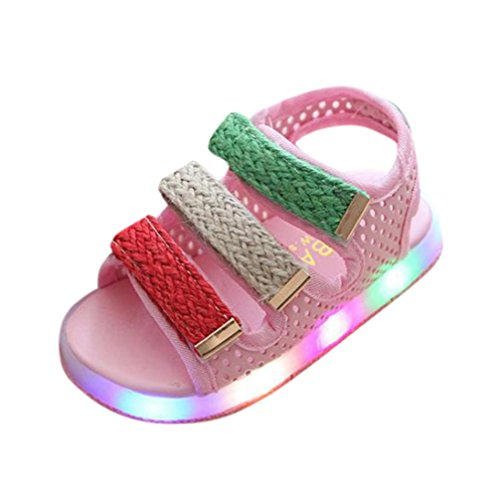 d4794265 Sandals – Moonker Kids Shoes,Toddler Baby Boys Girls Sport Summer Light-up  Sandals LED Luminous Flat Shoes Sneakers 1-6 Years Old (1.5-2 Years Old, ...
